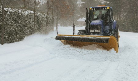 Snowplow in Williamsburg, VA